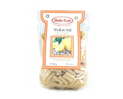 Dalla Costa Tubetti citroen & zwarte peper